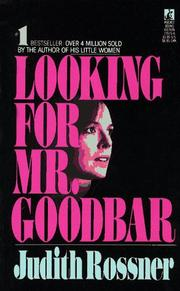 Cover of: Looking for Mr. Goodbar