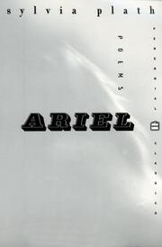 Cover of: Ariel | Sylvia Plath