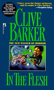 Cover of: In the Flesh | Clive Barker