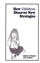 Cover of: How children discover new strategies