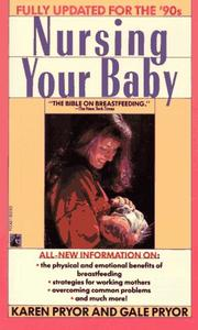 Cover of: Nursing your baby