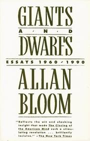 Cover of: Giants and dwarfs
