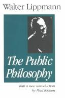 Cover of: The public philosophy