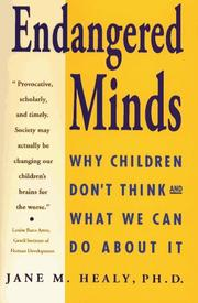 Cover of: ENDANGERED MINDS