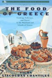 The food of Greece by Vilma Liacouras Chantiles
