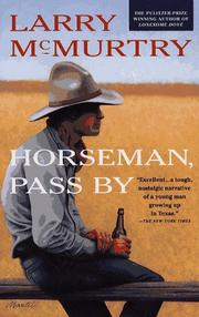 Cover of: Horseman, pass by