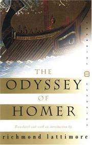 Cover of: The Odyssey of Homer | Homer