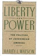 Cover of: Liberty and power