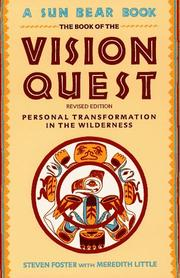 Cover of: Book Of Vision Quest