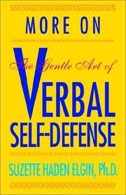 Cover of: More Verbal Self-Defense