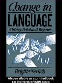 Cover of: Change in language