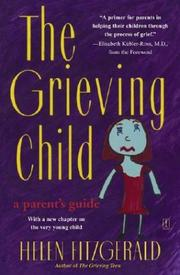 Cover of: grieving child | Helen Fitzgerald