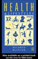 Cover of: Health and lifestyles | Mildred Blaxter