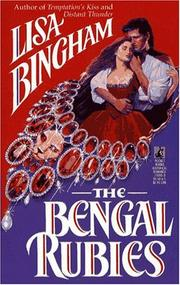 Cover of: The BENGAL RUBIES