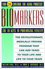 Cover of: Biomarkers
