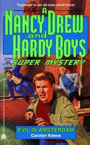 Cover of: Evil In Amsterdam (Nancy Drew Hardy Boy Supermystery )