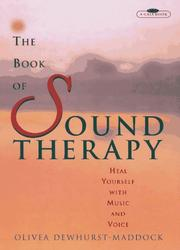 Cover of: The book of sound therapy