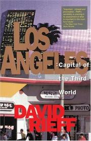 Cover of: Los Angeles | David Rieff
