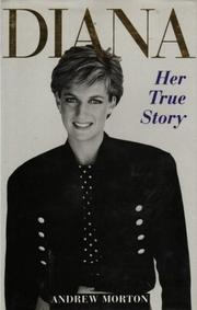 Cover of: Diana Her True Story