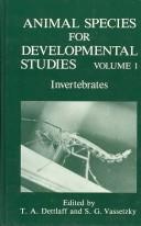 Cover of: Animal species for developmental studies |