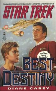 Cover of: Best Destiny | Diane Carey