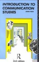 Cover of: Introduction to communication studies