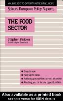 Cover of: The Food sector |