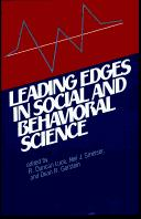 Cover of: Leading edges in social and behavioral science
