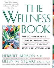 Cover of: The Wellness book |
