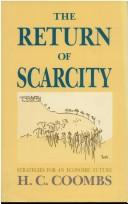 Cover of: The return of scarcity