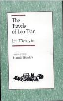Cover of: The travels of Lao Ts'an