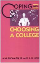 Cover of: Coping with choosing a college