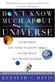 Cover of: Don't Know Much About the Universe