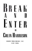 Cover of: Break and enter