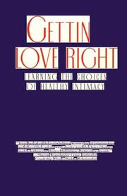 Cover of: Getting love right