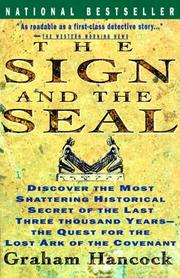 Cover of: The sign and the seal: the quest for the lost Ark of the Covenant
