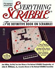 Cover of: Everything Scrabble | Joe Edley
