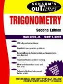 Cover of: Schaum's outline of theory and problems of trigonometry: with calculator-based solutions