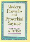 Cover of: Modern proverbs and proverbial sayings