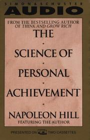 Cover of: The Science of Personal Achievement