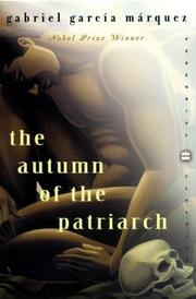 Cover of: The Autumn of the Patriarch
