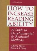 How to increase reading ability by Albert Josiah Harris