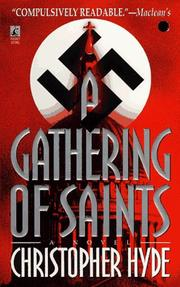 Cover of: A Gathering of Saints | Christopher Hyde