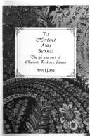 Cover of: To Herland and beyond