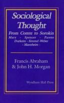 Cover of: Sociological thought