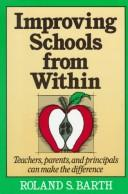 Cover of: Improving schools from within