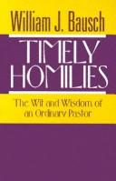 Cover of: Timely homilies