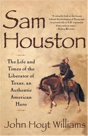Cover of: Sam Houston | John Hoyt Williams