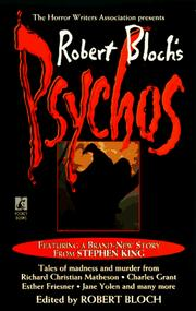Cover of: Robert Bloch's Psychos