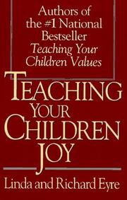 Teaching children joy by Linda Eyre